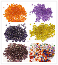 4000pcs 2mm Jewelry Making DIY Loose Czech Glass Rondelle Spacer Seed Beads 11/0