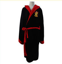 Harry Potter Hogwarts School Gryffindor Cotton Hooded Soft Bathrobe