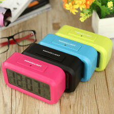 LCD Electronic Digital Snooze LED Alarm Clock with LED Backlight Light Control