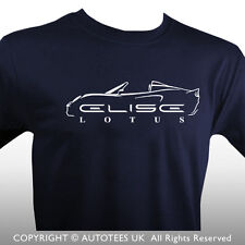 LOTUS ELISE S2 INSPIRED CLASSIC CAR T-SHIRT