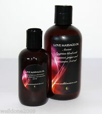 LOVE ROMANTIC EROTIC SENSUAL APHRODISIAC LOVERS MASSAGE OIL 100 ML, 250 ML
