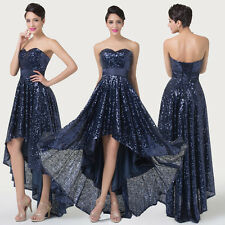 XMAS FINAL SALE high Low Front Short Back Long Prom Party Formal Evening Dresses