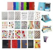 """Stylish PU Leather Wallet Case Cover with card slots fits Gotab 10.1""""Tablet"""