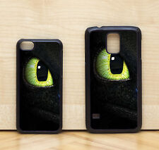 How To Train Your Dragon Fury Toothless Eye Case Cover for iPhone & Samsung