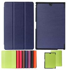 """Wake/Sleep Ultra-Thin Leather Case Cover For 8"""" Sony Xperia Z3 Tablet Compact"""