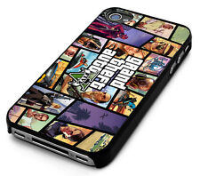 New All GTA Grand Theft Auto V 5 Game iPhone 4 4S 5 5S 5C 6 6 Plus Case Cover