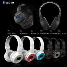 B-570 V2.1 Bluetooth headphone LED Light with screen FM MP3 Player support TF A