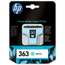 Original HP 363 ( C8774EE C8774 EE ) Light Cyan Ink Cartridge