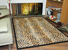 Animal Print Area Rugs Cheap Small Extra Large Soft Safari Mats Rug Leopard Skin