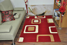 Red Modern Thick Soft Rug Quality Small Extra Large Cheap Mats Boxed Area Carpet