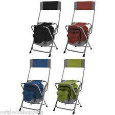 Travel Chair Anywhere Cooler Chair - Packs Flat For Easy Storage & Transport