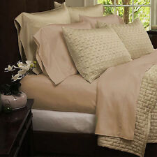 BAMBOO COMFORT BED SHEET SET1800 SERIES WRINKLE FREE  ALL SIZES 12 COLORS