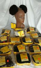 """Kinky Afro Synthetic Baby Afro Puffs (2 per pack)  """"NEW IN PACK """""""