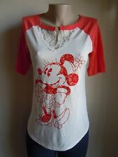 NEW FROM DISNEY MINNIE MOUSE WOMEN'S T-SHIRTS
