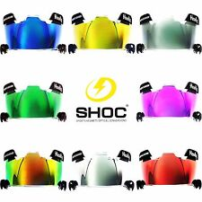SHOC Visor INSERT for Football or Lacrosse Helmets - Under Armour Nike Oakley