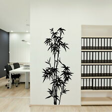 CHINESE BAMBOO TREE WALL ART STICKER DECAL TRANSFER giant stencil vinyl mura CH2