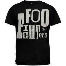 OFFICIAL Foo Fighters - Random Letters Logo T-shirt NEW Licensed Band Merch ALL