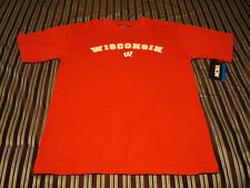 NWT Wisconsin Badgers T-Shirt (M, L, XL) Hat Jersey Polo Shirt