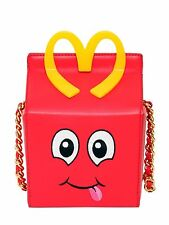 New A/W 2014 MOSCHINO 'Jeremy Scott' Happy Meal Leather Shoulder Bag   *RARE*