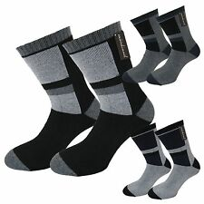 Thermal Socks for MENS 6 Pairs Outdoor Socks with FULL CUSHION FOOT 95% cotton