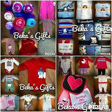 Baby Clothes and Accessories -Holiday, Casual, and Fun- You Pick