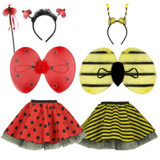 BUMBLE BEE / LADY BUG/ LADYBIRD TUTU SKIRT FANCY DRESS COSTUME XS S M L XL DANCE
