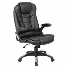 Executive Luxury Reclining Swivel Computer Desk Office Chair