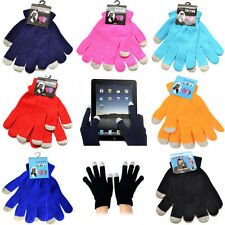 Phone Unisex Magic Touch Screen Gloves Smartphone Texting Stretch Winter Knit
