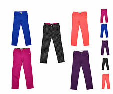 Girls Kids Fashion Slim Skinny Denim Jeans Trousers Age 4 5 6 7 8 10 12 14 Years