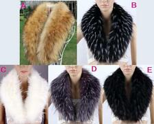 New women faux fur winter warm collar scarf stole muffler neckerchief wrap shawl