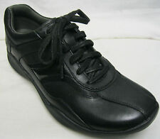 Ladies Clarks Wave Flow Lace Black Leather D Fitting