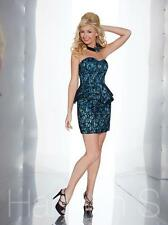 Discount Hannah S 27860 Prom Dress Pageant Dresses Black/Nude Size 6 NWT