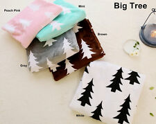 Soft Cuddle Minky Fabric with Big Tree in 5 Colors By The Yard