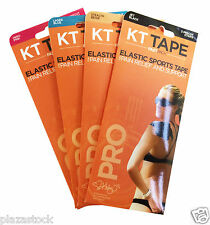 KT Tape Pro Kinesiology Elastic Tape - Pain Relief - Support - Pack of 3