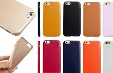 New Soft Leather Style Ultra-Thin Slim Gel Cover Back Case for Apple iPhone 6