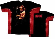 "AC/DC ""Live At Donnington"" Double Sided Tie-Dye T-Shirt - FREE SHIPPING"