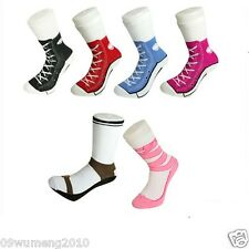 free ship Men women Silly Socks Cotton Converse Trainer Sneakers Socks Christmas