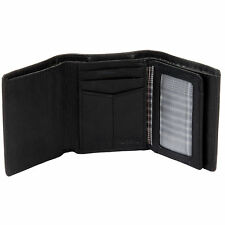Fossil Ingram Extra Capacity Men's Leather Billfold Trifold Wallet NEW NWT
