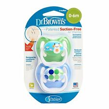 Dr. Brown's PreVent Design Pacifier, Boys, Stage 1 ~ 3 Choices