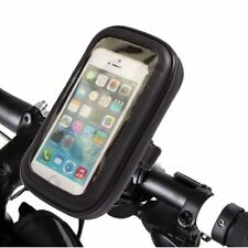 Bike Handlebar Mount Holder Waterproof Case Bag Universal For iPhone Samsung