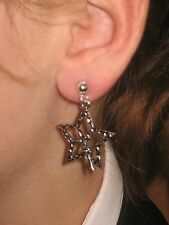 Pair FAIRY  Earrings dangle hooks or studs ***UK made*** Free 1St Class Post***