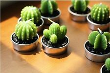 Cactus Plant Candles For Home or Table Decor Rare New Mini 6pcs in a lot