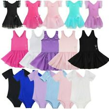 Girls Ballet Dress/Tutu Leotard Skirt Dance Gymnastics Fancy Fairy Dance Costume