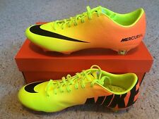 Nike Mercurial Vapor IX FG Yellow / Orange, Black Brand New w/ Box MSRP $225