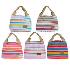 New Thermal Insulated Lunch Box Tote Cooler Zipper Bag Bento Lunch Pouch Vogue