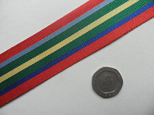 Pacific Star, WWII,  Replacement Medal Ribbon, Full Size [32mm]. Free Postage.