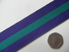General Service Medal 1918-62, replacement ribbon, full size.   Free Postage