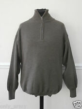 Italian Army Wool Jumper / Pull Over Premium / High Quality Winter Casual NEW
