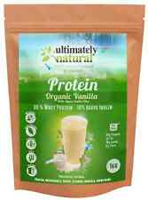 Natural Health Whey Protein Concentrate Powder Organic Vanilla Superfood Shake