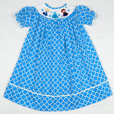 Smocked Bishop Frozen Dress   6 mon - 6 years  Frozen PARTY!